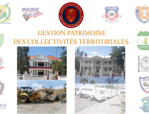 Gestion Patrimoine des Collectivités Territoriales